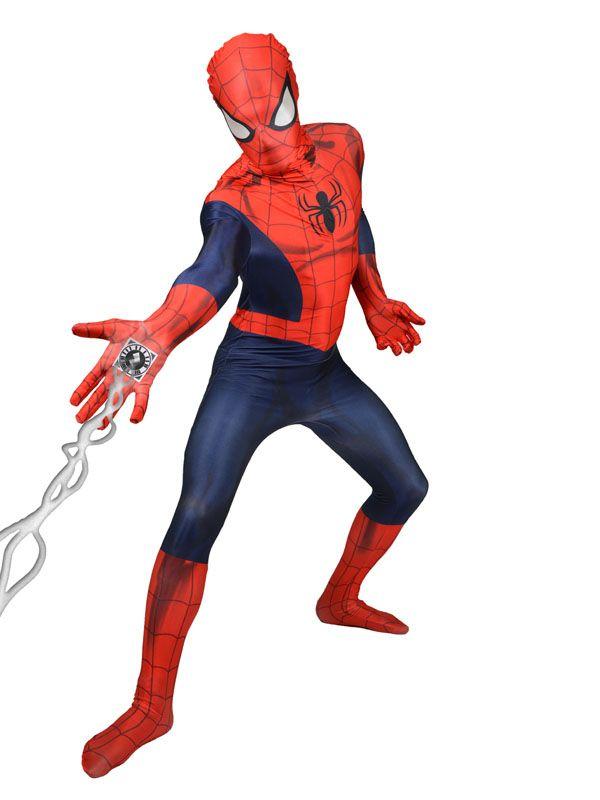 Déguisement Morphsuits™ Spiderman Digital adulte : Ce déguisement Morphsuits™ pour adulte est sous licence officielle Marvel™.Il se compose d'une combinaison intégrale. La combinaison représente le...