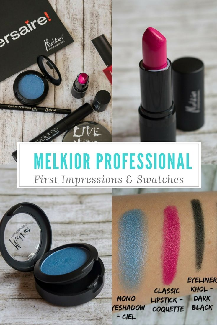 Melkior Professional Make-up – First Impressions & Swatches