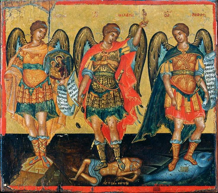 Κορτεζάς Γεώργιος-Three Archangels, 1st half of the 17th c.