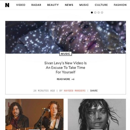 Front page on Nylon !