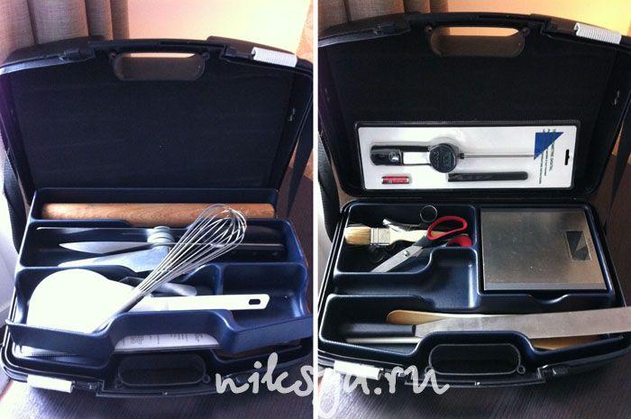 Чемоданчик с инструментами