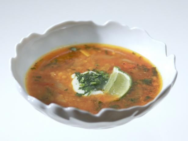 Aarti Sequeira's flavor-packed Red Lentil Soup is a warming and healthy dish.