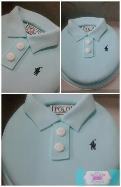 polo shirt cake - Cake by epeh                                                                                                                                                                                 More