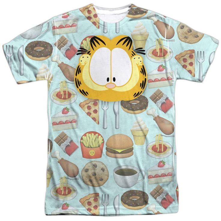 "Checkout our #LicensedGear products FREE SHIPPING + 10% OFF Coupon Code ""Official"" Garfield/cat Food-s/s Adult Poly T- Shirt - Garfield/cat Food-s/s Adult Poly T- Shirt - Price: $24.99. Buy now at https://officiallylicensedgear.com/garfield-cat-food-s-s-adult-poly-t-shirt-licensed"
