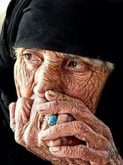 An old Iraqi Women - The face tells the story