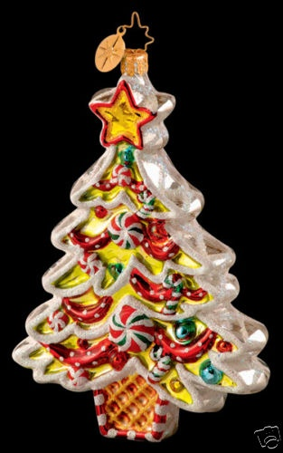 Christopher Radko Sugar Boughs Ornament