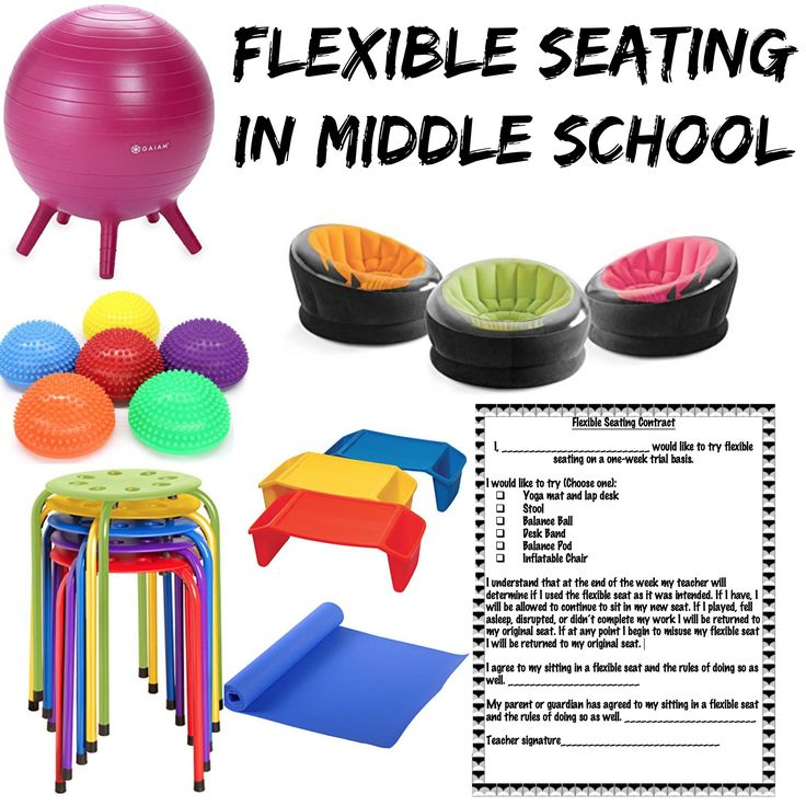 Flexible Seating for Middle School