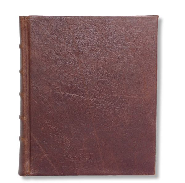 Full Leather photo album in brown #handcrafted #boundinbendigo