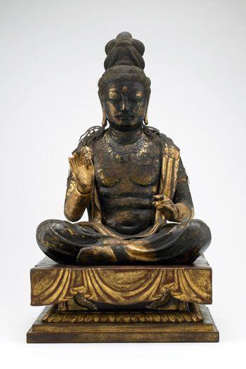9th-10th c. Japanese  Bodhisattva Avalokitesvara (Kannon , Heian period,  F1909.344a-i