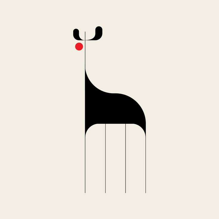 Giraffe: a minimalist #illustration project exploring the animal kingdom