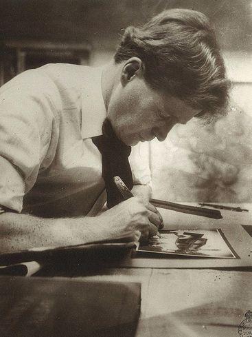 Walter Burley Griffin, architect & designer of Canberra, 1912
