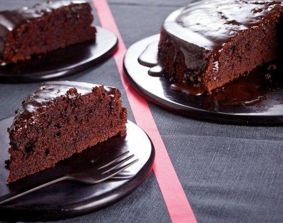 Šťavnatý++čokoládový++koláč