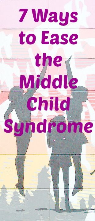 7 ways in which to help you tackle those problems you get with the middle child!