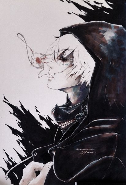 Tokyo Ghoul Kaneki Ken and yes, I have pinned this here before. I like it too much to care.