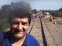 CRÓNICA FERROVIARIA: Tafí Viejo: Siguen los trabajos en nuevo puente fe...