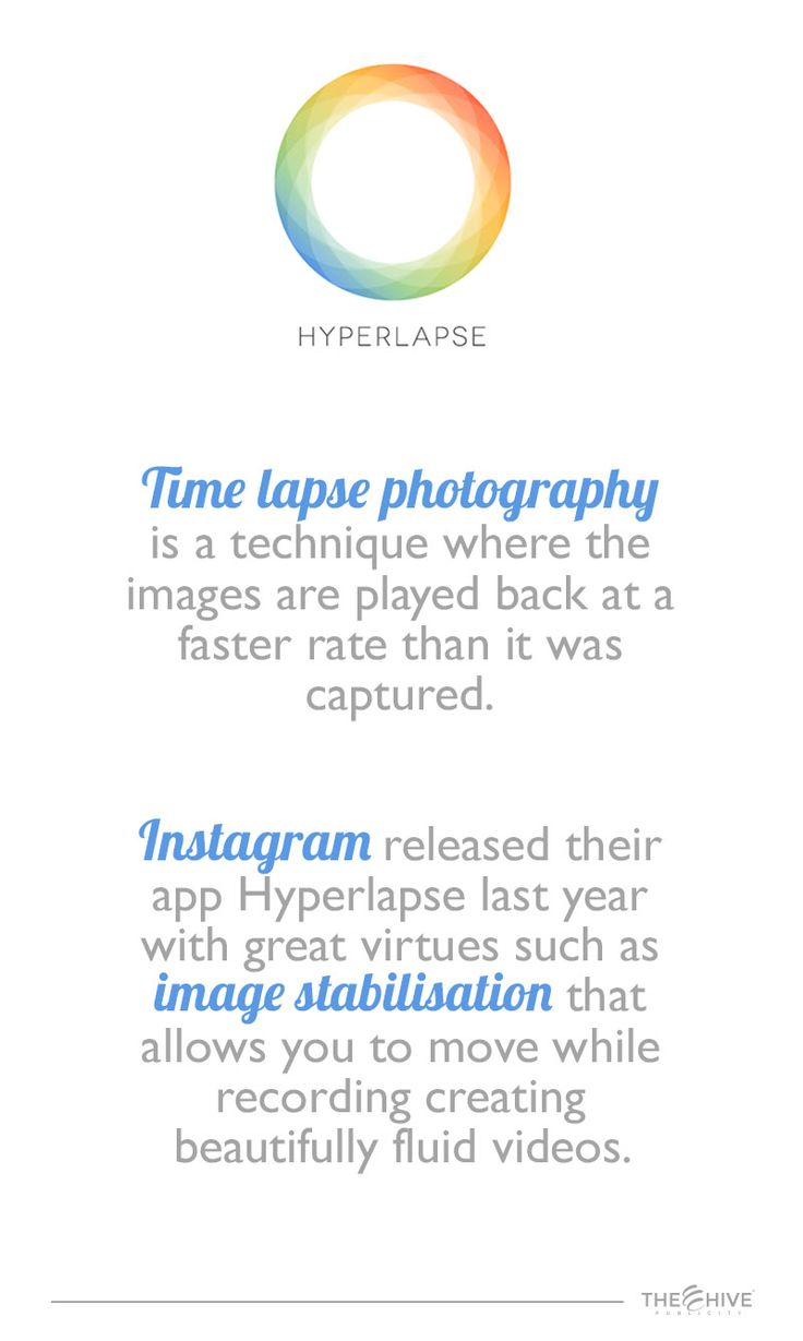 Do you know how to use Hyperlapse for marketing purposes on Instagram?  • Big brands have used it to show their audience the unpacking of a product. That motivates the target market to purchase it.  • Mercedes-Benz used the app to show their cars recording from inside the vehicle. Allowing their audience to feel and experiment the product.  • Both Vogue and Cosmopolitan used Hyperlapse to show their workspace.  • Creativity is the key of Hyperlapse.