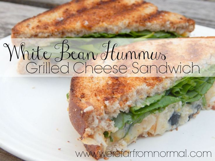 ... on Pinterest | White bean hummus, Cheese sandwich recipe and Spicy
