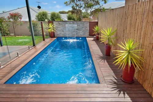 31 best pool images on pinterest small swimming pools decks and small gardens. Black Bedroom Furniture Sets. Home Design Ideas