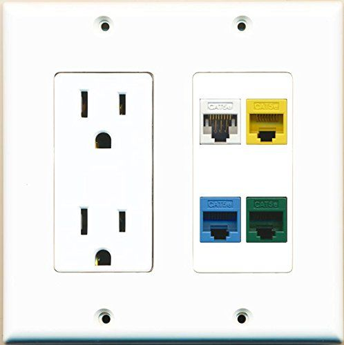 21 Best Custom Ethernet Wall Plates By Riteav Images On