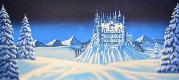 Ice Castle Backdrop}Dance}schools}backdrops}scenic ...