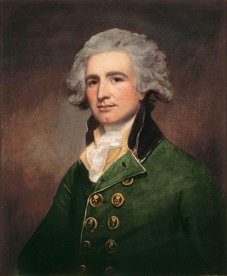 george romney paintings | George Romney - Colonel Robert Abercrombie - Google Art Project