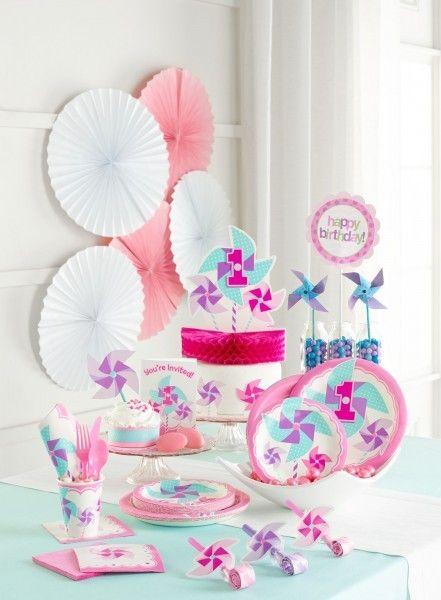 14 besten erster geburtstag deko 1 geburtstag m dchen bilder auf pinterest baby party deko - Erster geburtstag ideen ...