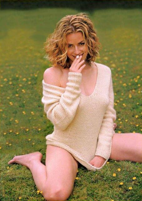 Elizabeth Shue.  I've always loved her hair!