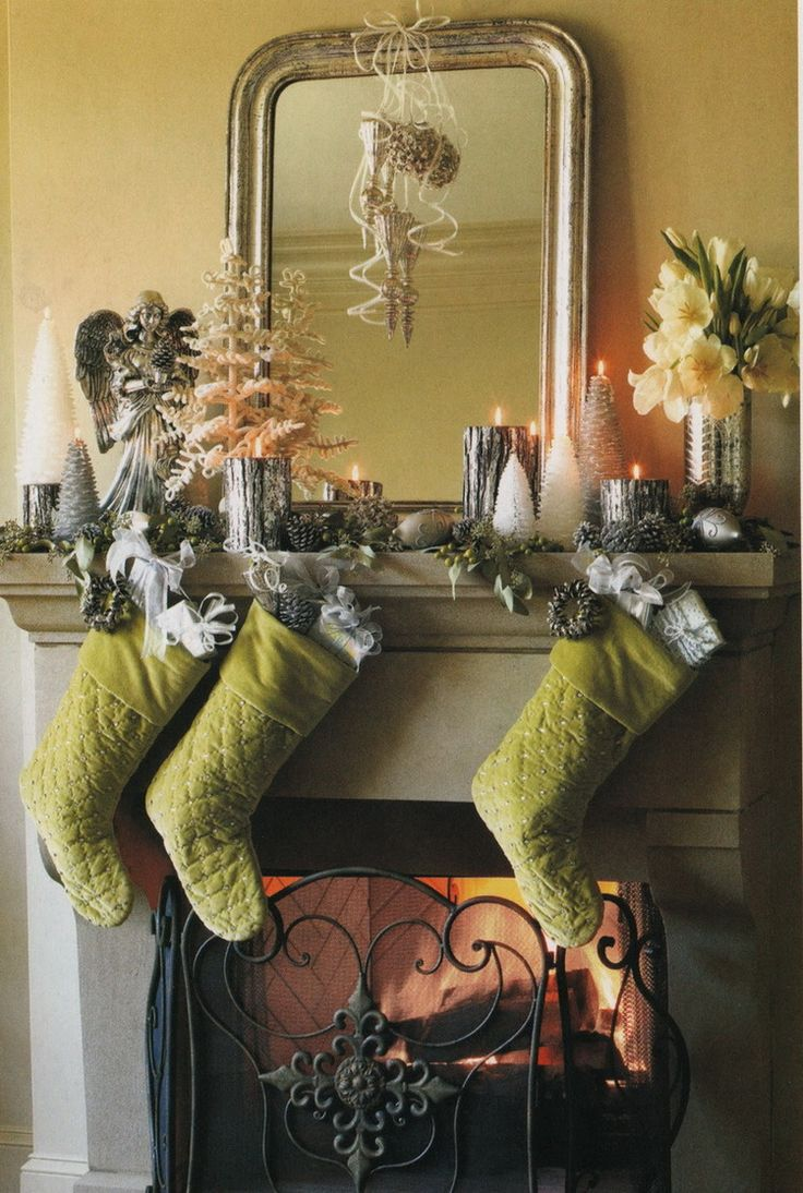 🔝52 Christmas Mantles 🎅. Christmas FireplaceChristmas MantlesChristmas  DécorRustic ChristmasChristmas DecorationsChristmas ...