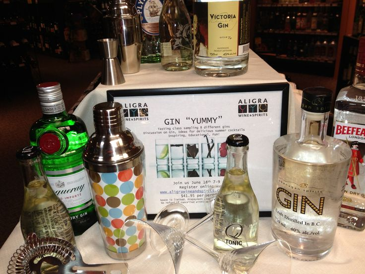 Cool gins!