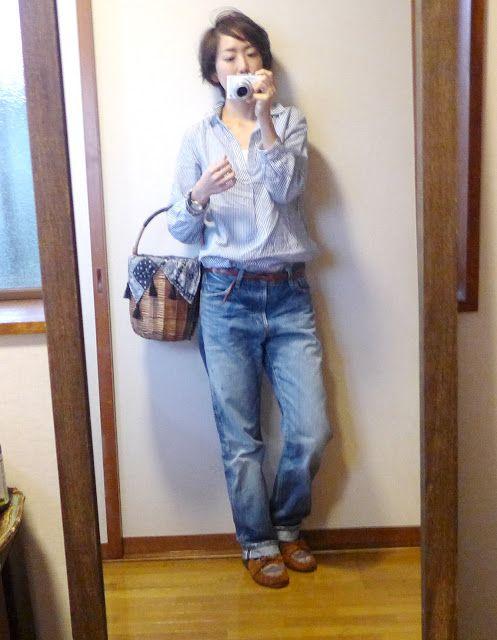 モコーデ: 8年前の服を着る休日の日記 2月6日