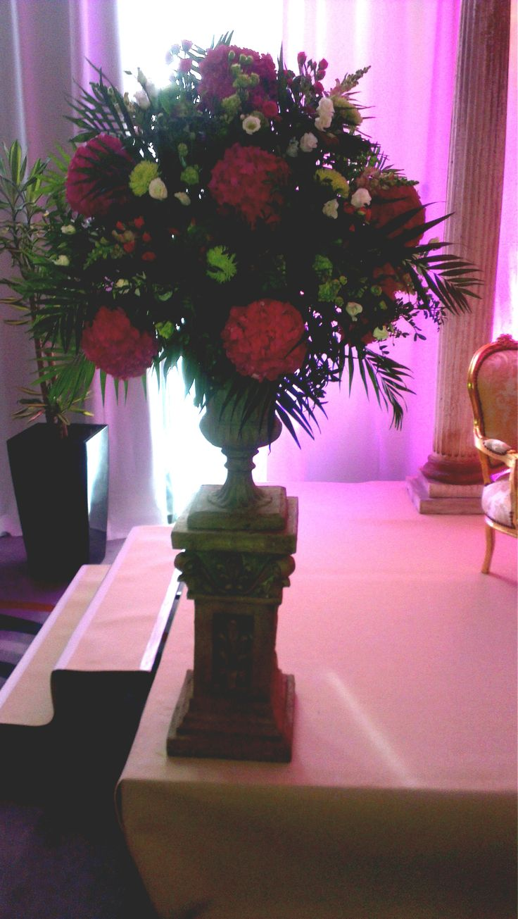 Gorgeous flowers for our wedding