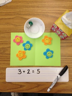 Great kindergarten blog with lots of good things--including math center ideas!