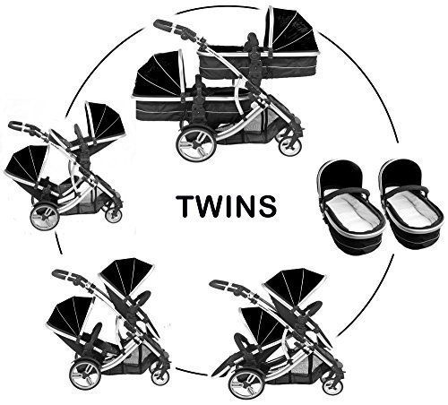 Duellette 21 Combo Twin Tandem Pushchair...