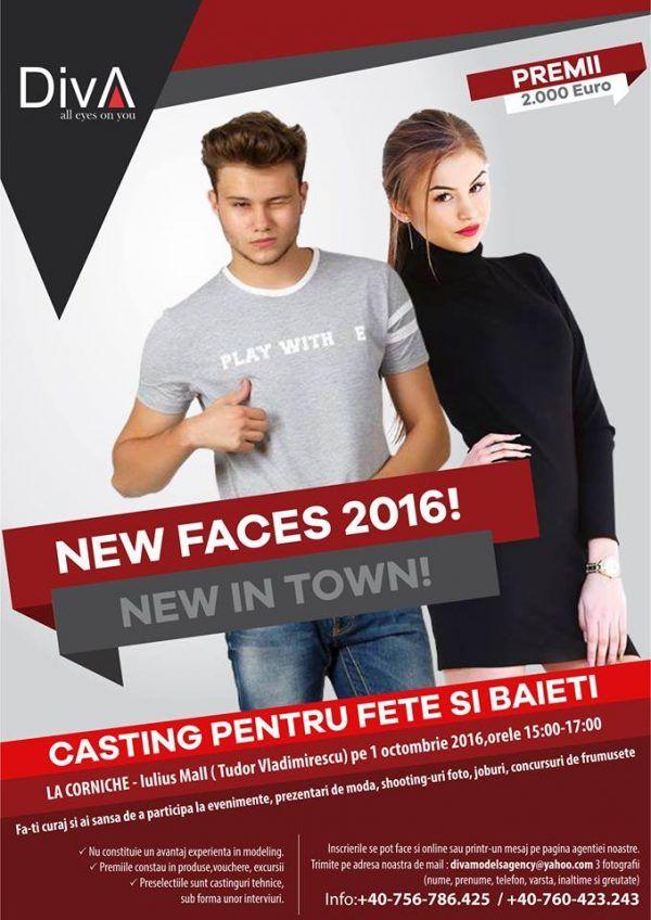 New faces 2016 – casting Diva&Man Models
