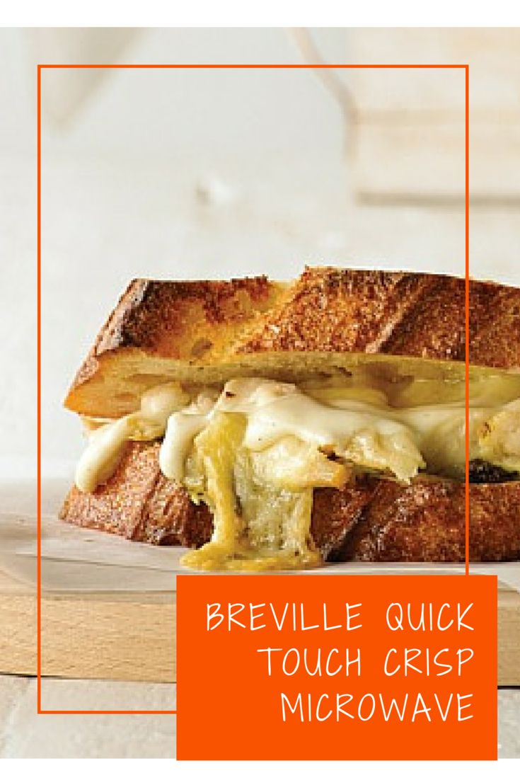 Breville Quick Touch Crisp Microwave Review And Giveaway