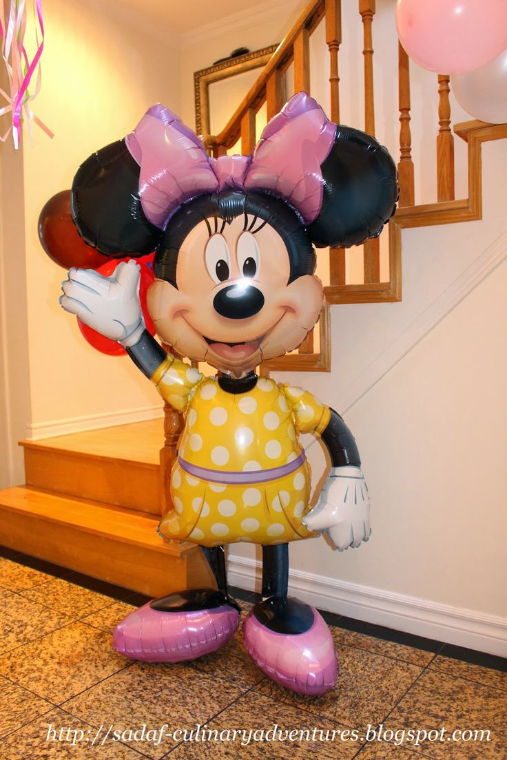 Giant Gliding Minnie Foil Balloon from Party City