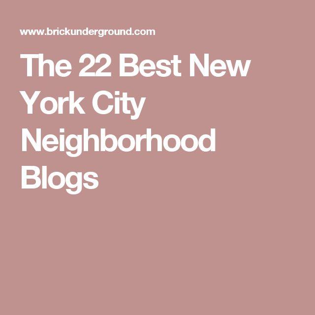 The 22 Best New York City Neighborhood Blogs