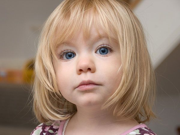 Simple Little Girl Short Haircuts Picture