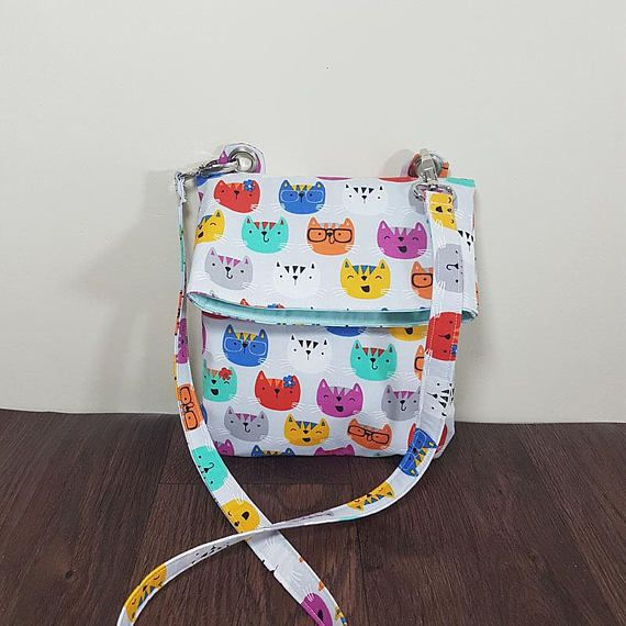 Lily fold over crossbody bag PDF sewing Pattern