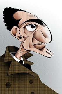 Almada Negreiros, caricatura de Vasco Gargalo