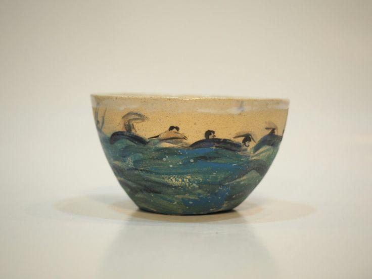 Teas around the sea by lourdes ral, stoneware