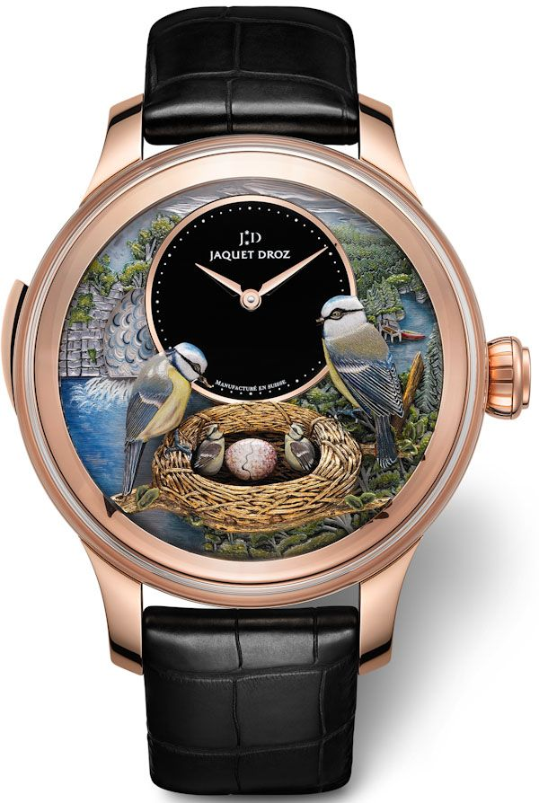 Jaquet Droz Timepiece ( see the way the automatons move in GIF above ❤️