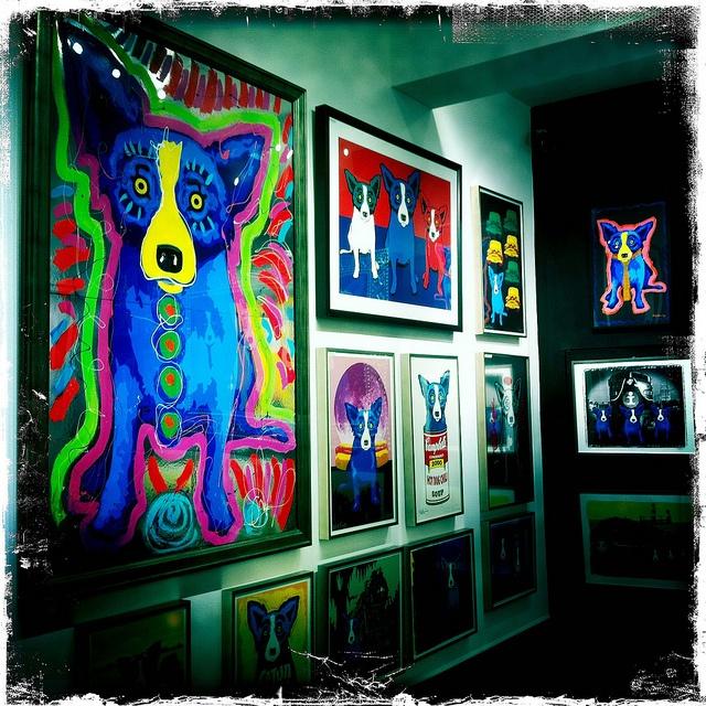 Blue Dog Gallery - George Rodrigue