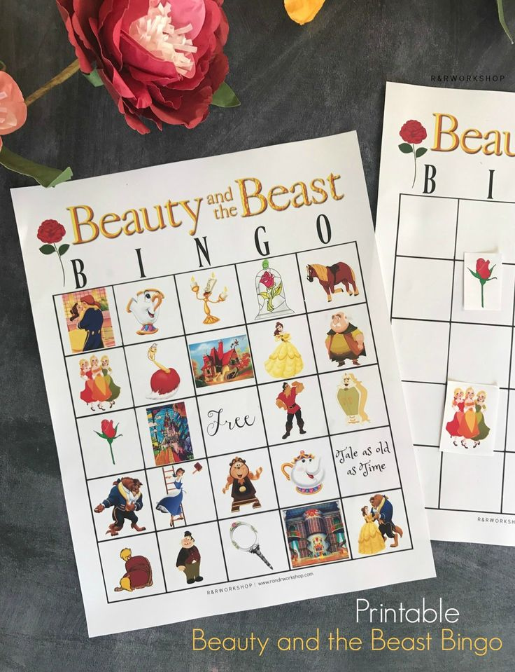 Games & Activities | Beauty and the Beast | Disney Movies