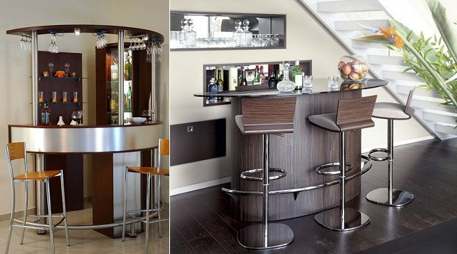 17 best images about mini bar moderno on pinterest mesas - Barra de bar para salon ...