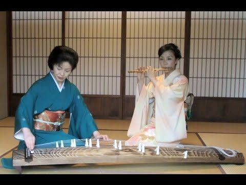 Traditional japanese Music (Miyabi) Shinobue meets Koto…