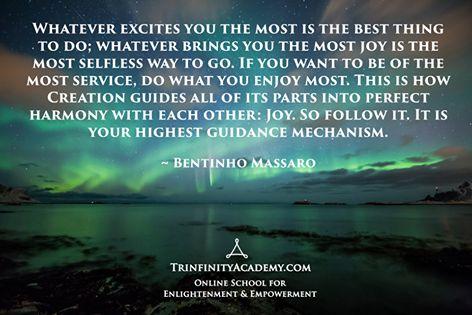 Waarom je persoonlijke passie volgen het beste is wat je kunt doen voor het universum.