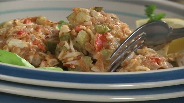 Mr. Food: Deviled Crab Cakes