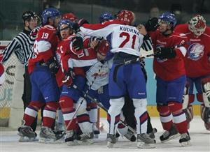 SKA St Petersburg will be looking to extend their lead at the top of the West Conference ladder when they battle Metallurg Novokuznetsk in the Kontinental Hockey League.