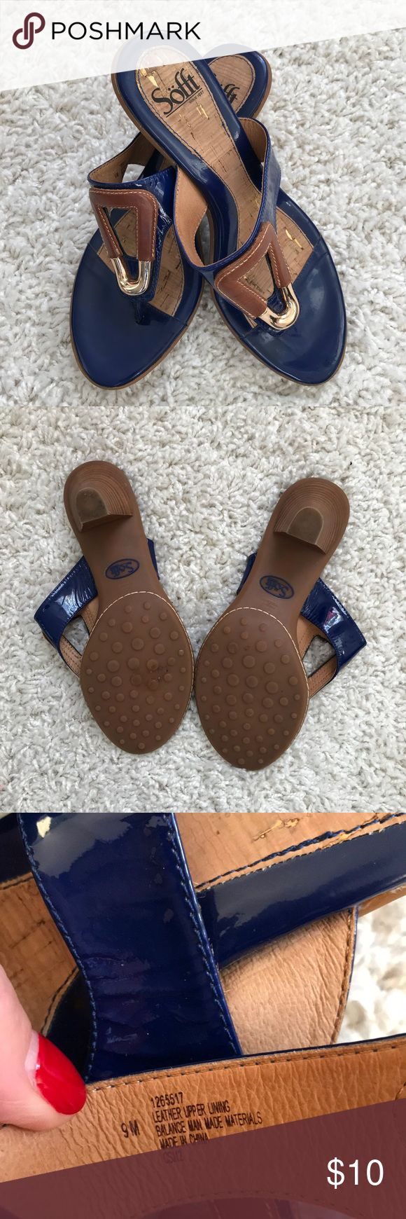Sofft sandals EUC - worn maybe 3 times Sofft Shoes Sandals